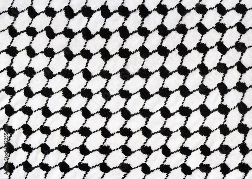 background with houndstooth fabric pattern Canvas Print