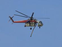 Sikorsky S-64E Skycrane Helico...