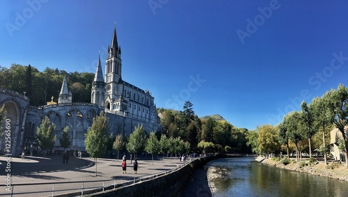 Fotografie, Obraz  Santuario di Lourdes