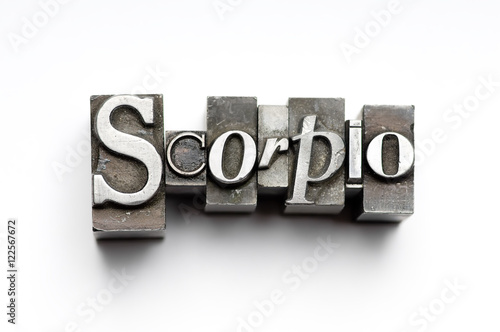 Photo  Scorpio Zodiac Sign