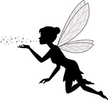 Cute Fairy Flying