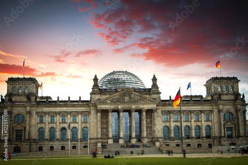 Zdjęcie XXL budynek w Berlinie, Niemcy