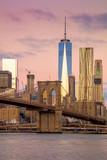 Morning colors of famous New York Landmarks, NYC, USA - 122598428