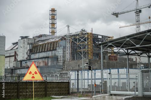 Fotografie, Obraz  Chernobyl power station, 4-th block