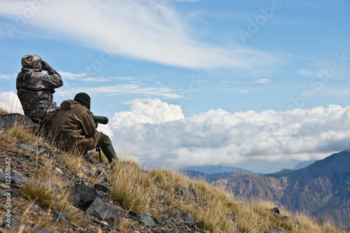 Hunting ibex in the Tien Shan mountains