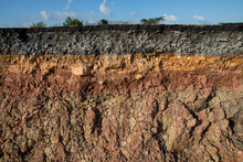 The Curb Erosion From Storms. ...