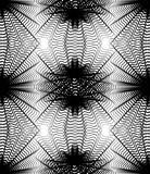Black and white vector ornamental pattern, seamless art backgrou - 122637091