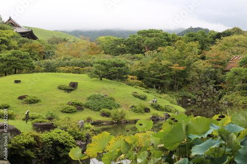 Jardin Japonais Isui En Nara Japon Buy This Stock Photo And
