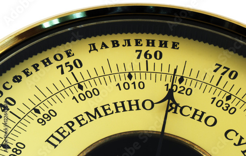 Photo Aneroid barometer
