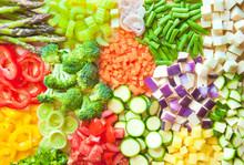 Assorted Cut Vegetables