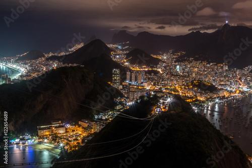 Fotografie, Obraz  Rio de Janeiro by Night