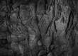 Leinwandbild Motiv Dark grey black slate background