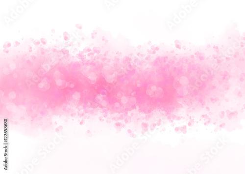 Plakat Kolorowej akwareli pluśnięcia abstrakcjonistyczny tło dla tekstur