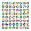 Set of 200 Universal Icons. Business, internet, web design.
