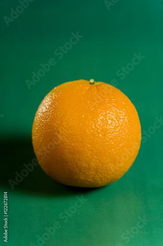 Fotografie, Obraz  Orange on Green