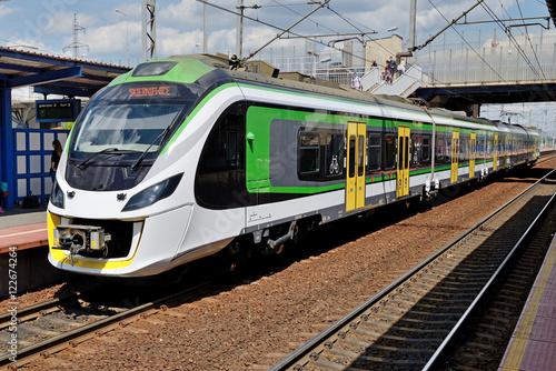 Fotografia Passenger train.