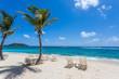 Beach in Sint Maarten Island & Saint Martin Island, French West Caribbean