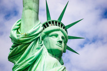 Close-up Of Statue Of Liberty