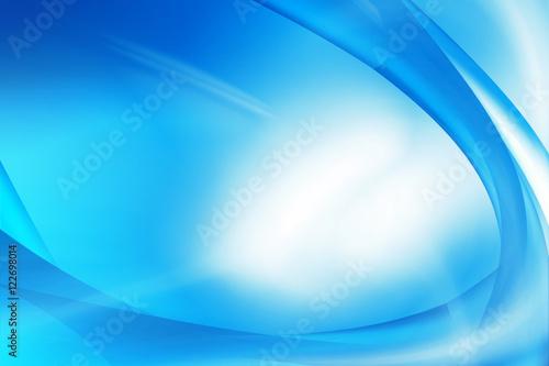 Fotografie, Obraz  Sfondo astratto azzurro