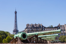 Cannons And Eiffel Tower