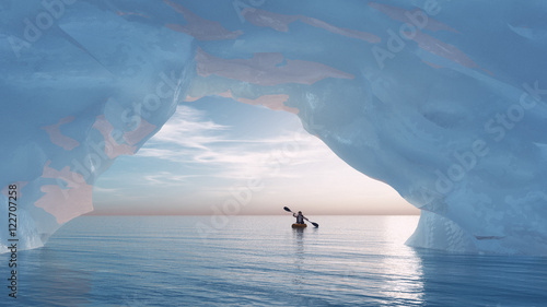Fotomural The arch iceberg
