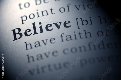 Photo  believe