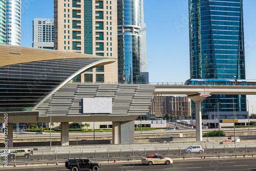 Fototapety, obrazy: Dubai metro