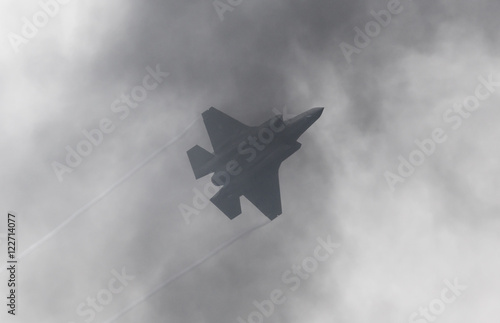 Photo  LEEUWARDEN, THE NETHERLANDS - JUNE 11, 2016: F-35 Lightning II f