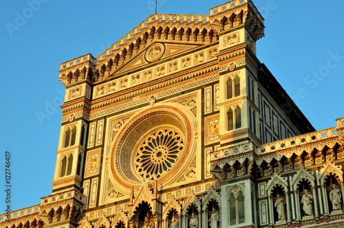 Cuadros en Lienzo Florenz - Kathedrale Santa Maria del Fiore im Abendlicht
