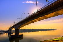 Thai-lao Borden Bridge
