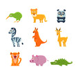 Exotic Toy Fauna Collection