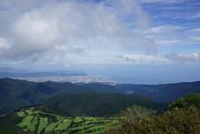箱根駒ヶ岳からの景色 風景 富士山 空 雲