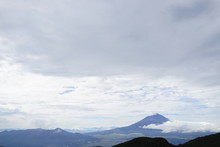 箱根駒ヶ岳からの景色 風景 富士山
