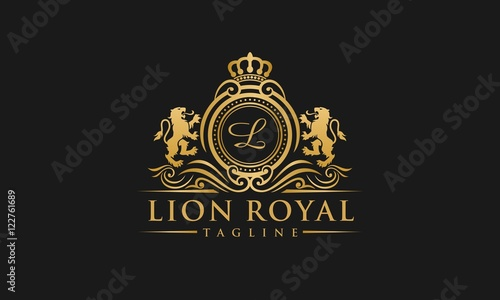 Fotografía  Lion Royal Logo