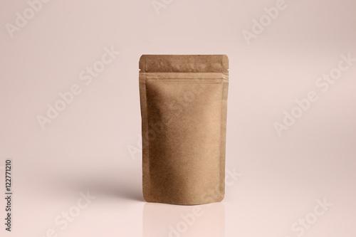 Fotografía  mockup картонная упаковка для кофе чая