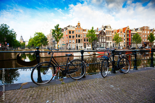 Photo  Early Morning in Amsterdam