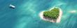 canvas print picture - Paradise tropical island