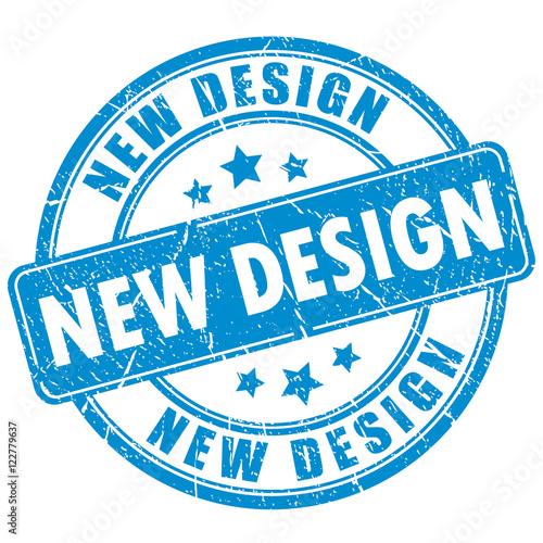 Valokuvatapetti New design vector stamp
