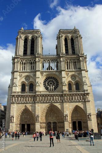 Fotografia  La cathédrale Notre-Dame-de-Paris, France