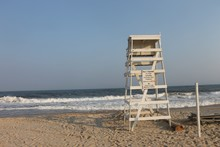 Life Guard Stand In Montauk