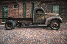 Old Truck At Distillery Town I...