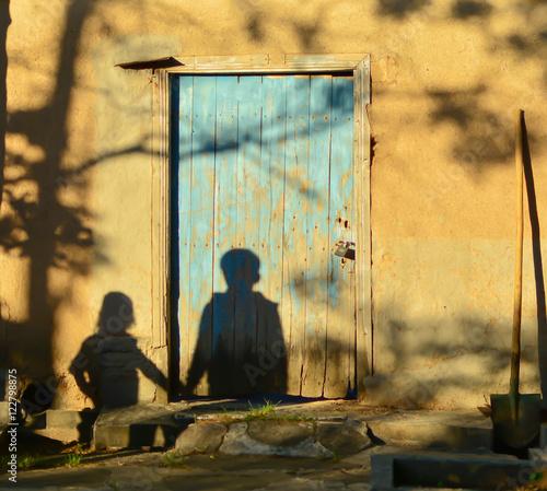 Valokuva  Duvardaki Çocuk Slueti
