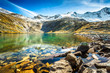 Lake at Zillertal in Austria
