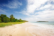 Grande Terre near Anse des Salines. In search of tranquility. Martinique, Carribbean