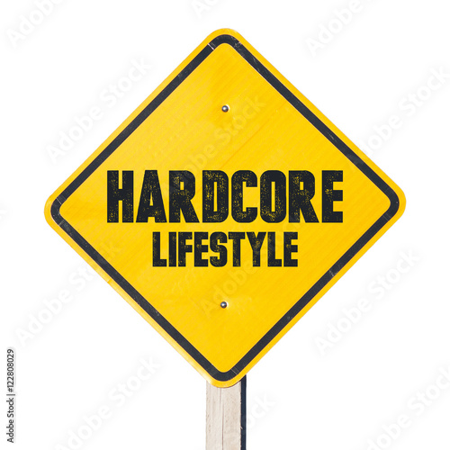 Valokuva  Harcore lifestyle sign. Those who live life in extreme ways.