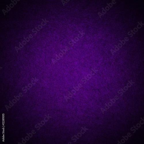 elegant royal purple background with black grunge vignette borders Plakat