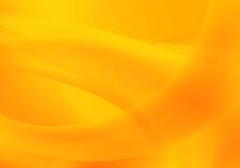 Abstract Wave Background Orange