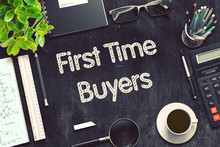First Time Buyers Concept On B...
