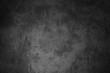 canvas print picture - Verdreckte schwarze Oberfläche