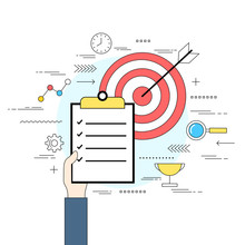 Business Analysis And Evaluation Concept